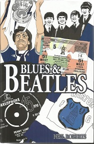 Blues & Beatles hardback book signed on inside pag