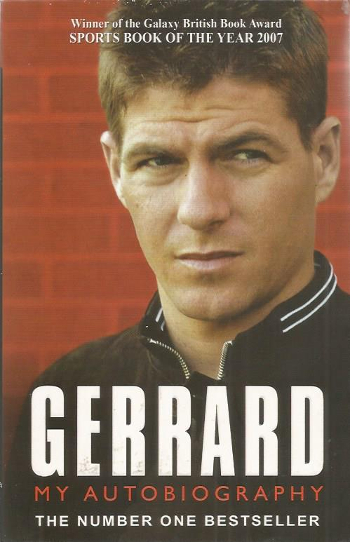 Steven Gerrard signed Gerrard the autobiography pa