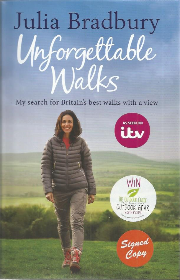 Julia Bradbury signed Unforgettable Walks - my sea