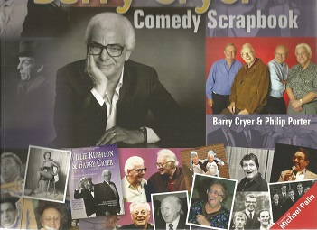 Barry Cryer Comedy Scrapbook signed to title page