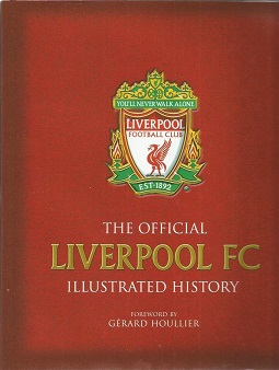 Official Liverpool FC hardback book signed by 13 i