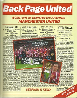 Man Utd legends signed Back Page United hardback b