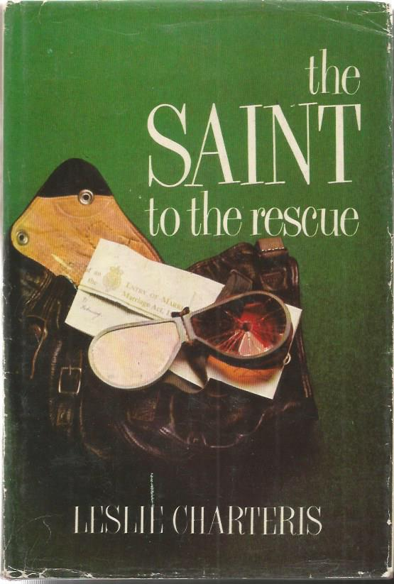 Roger Moore and Leslie Charteris signed The Saint