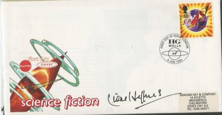 Lionel Jeffries autographed cover. 1995 Royal Mail