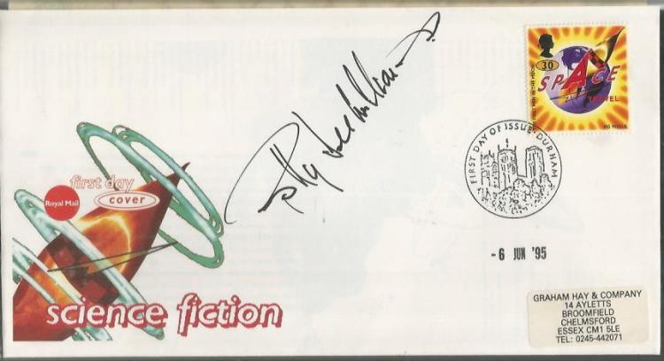 Billy Dee Williams autographed cover. 1995 Royal M
