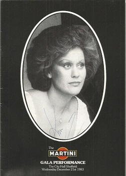 Dame Kiri Ti Kankawa signed Gala Performance 1983