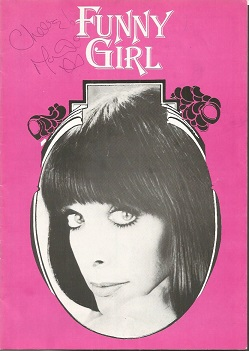 Marti Caine signed Funny Girl programme.  Signed o