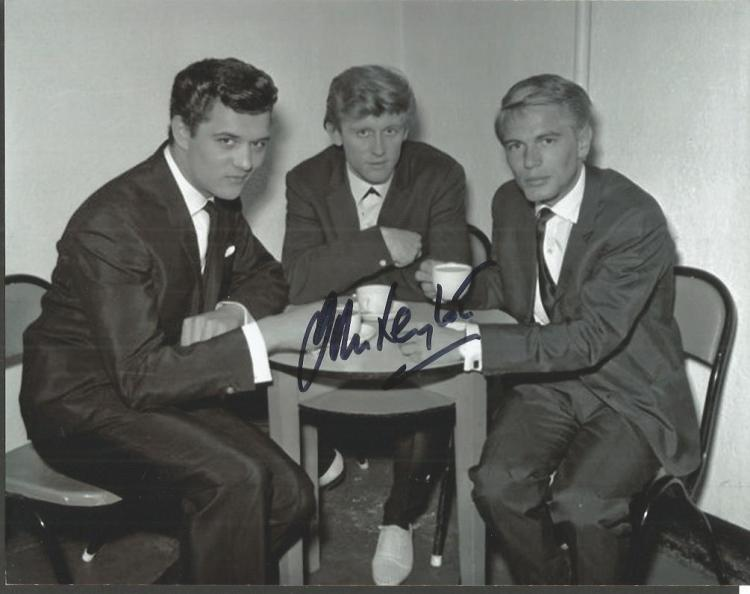 John Leyton -  Singer - 10X8 Photo  Signed.  With
