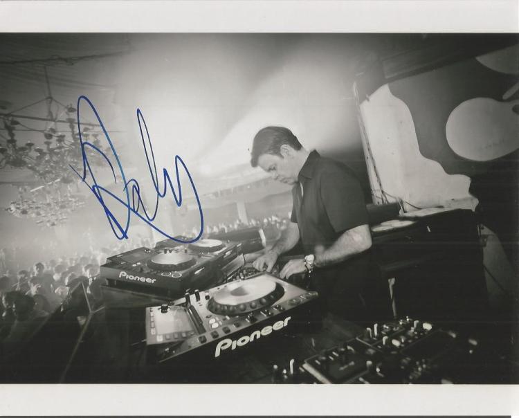 Paul Oakenfold - Dj Mixer  -10X8 Photo Signed