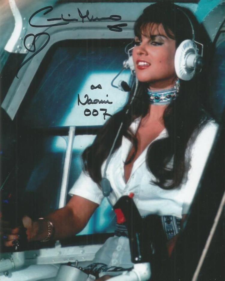Caroline Munro - 10X8  Photo  Signed. James Bond /