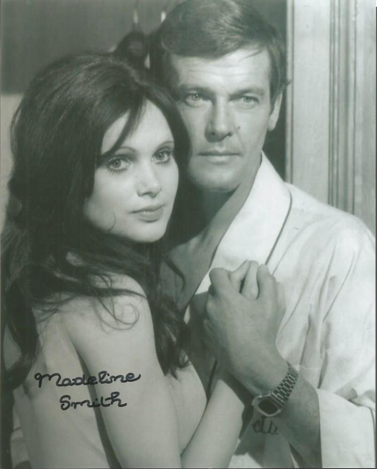 Madeline Smith  -007 -10X8 Photo   Signed. With Si