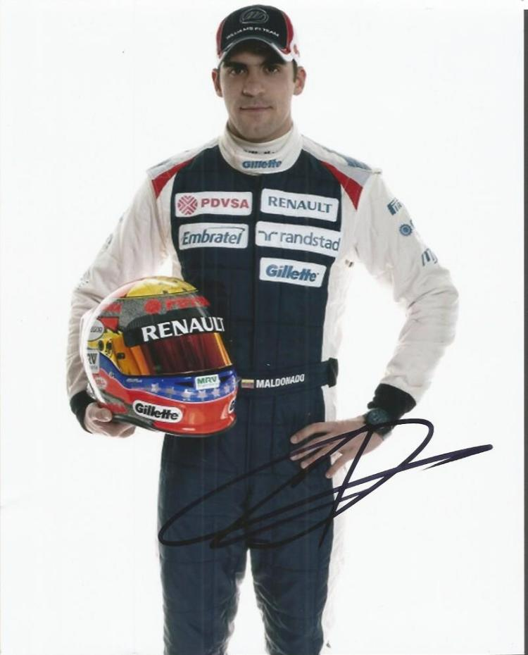 Pastor Maldonado - Racing Driver     - 10X8  Photo
