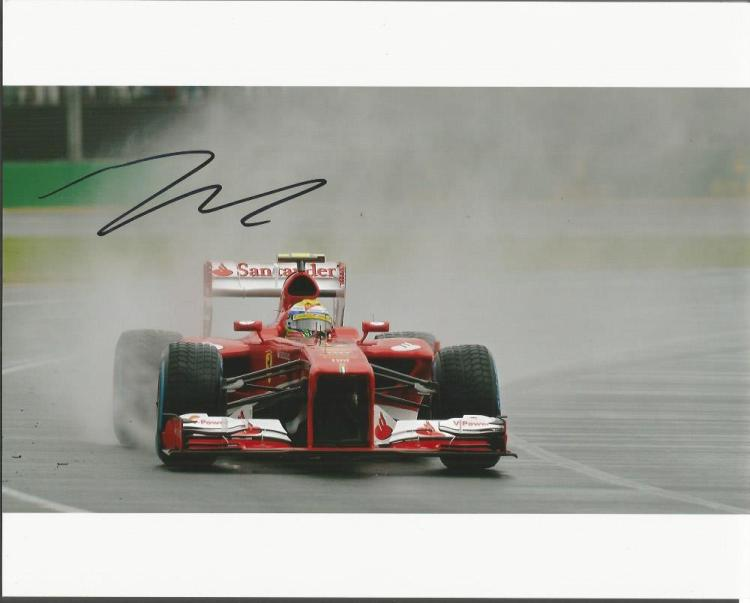 Filipe Massa  - Racing Driver     - 10X8  Photo Si