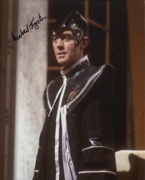 Doctor Who – 8X10 Photo Signed By Michael Jayston,