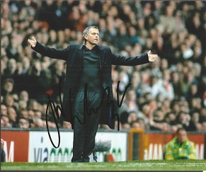 Jose Mourinho Signed 8X10 Photo  Good condition. A