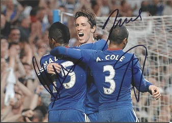 Chelsea Signed Chelsea 8X11 Photo By Florent Malou