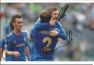 Chelsea Signed 8X11 Photo By Josh Mceachran, Marko