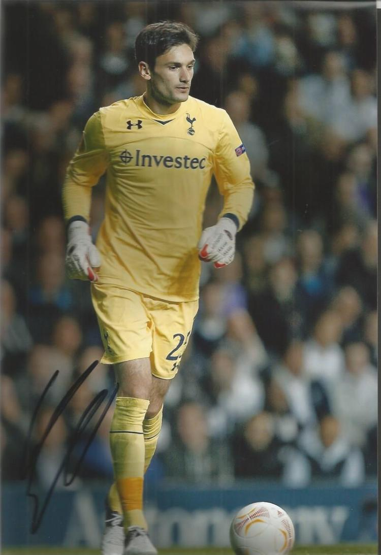 Hugo Lloris Signed Tottenham Hotspur 8X12 Photo Go