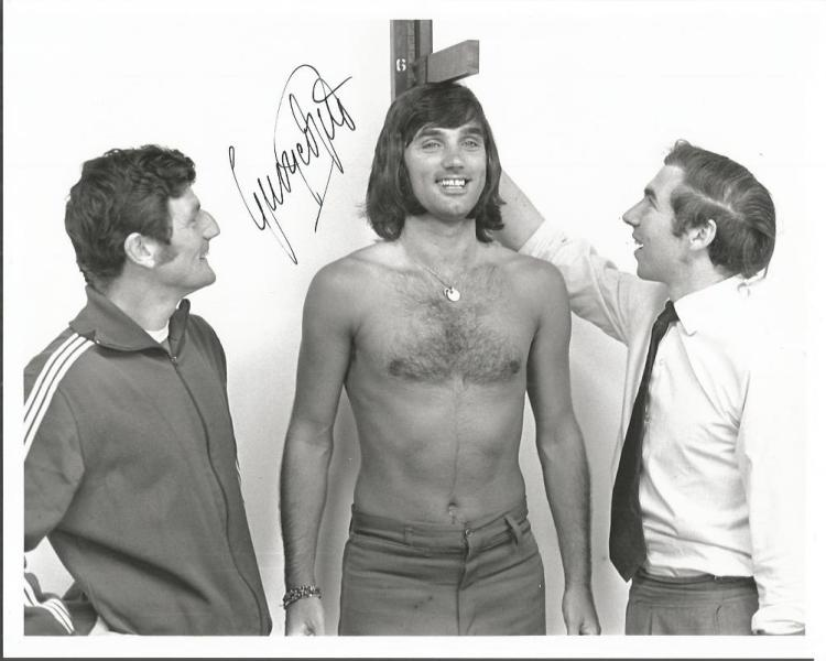 George Best Manchester United Legend Signed 8X10 P