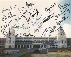 World Cup 1966 Final Signed 8X10 Wembley Stadium P
