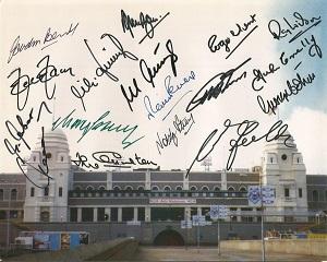World Cup 1966 Final Signed 8X10 Wembley Stadium P