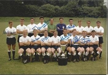 Tottenham Hotspur 1963 European Cup Winners Cup Sq