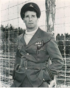 James Garner Signed Great Escape 8X10 Photo Good