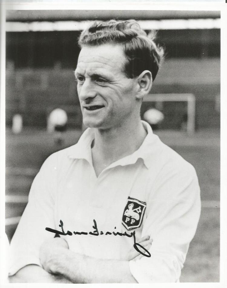 Tom Finney Signed Preston North End 8X10 Photo Wit