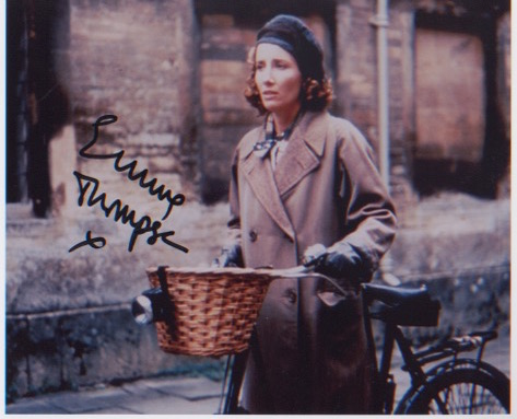 Emma Thompson. 10x8 picture. Excellent.  Good cond