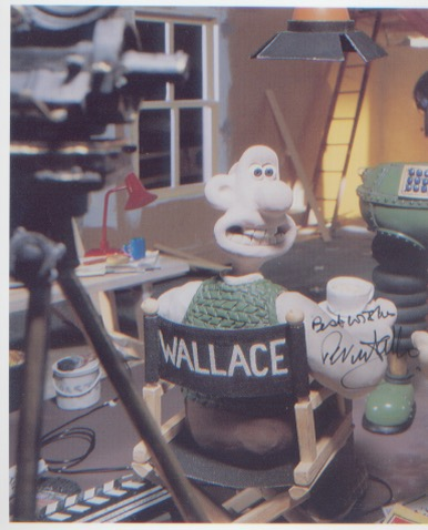 Wallace and Gromit. 10x8 picture of Wallace and Gr