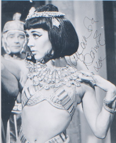 Carry On Cleo. 10x8 picture of Amanda Barrie in ch