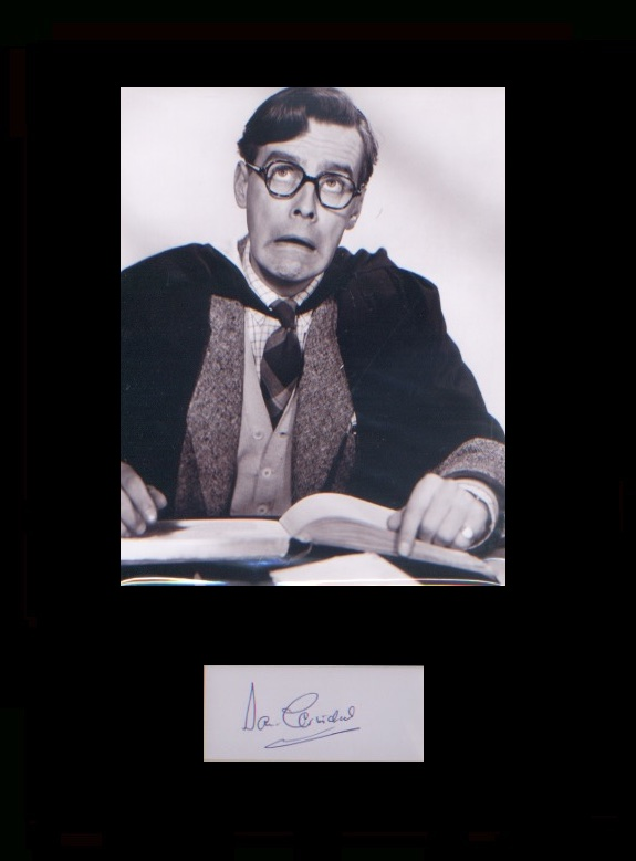 Ealing Comedy - Lucky Jim. Signature of Ian Carmic
