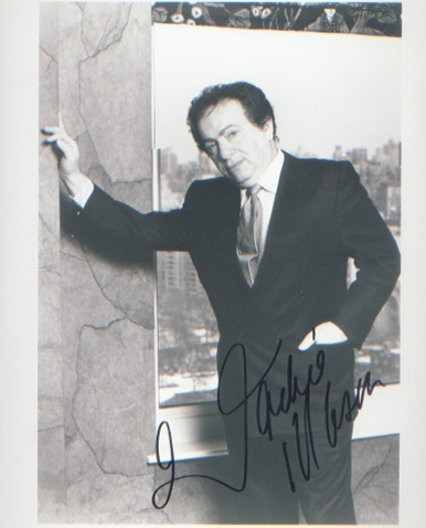 Jackie Mason. A 10x8 picture. Excellent. Good con