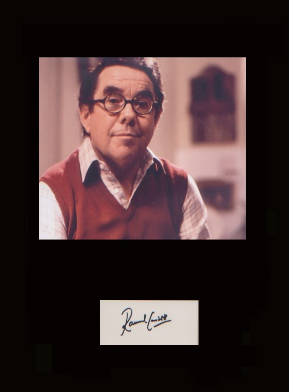 Sorry - Ronnie Corbett. Signature of Ronnie Corbet