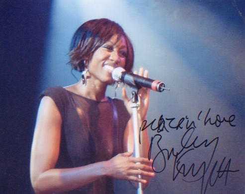 Beverley Knight. A 10x8 picture of the queen of Br