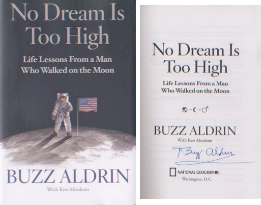 Apollo 11 - Buzz Aldrin - First  Moonlanding. Sign