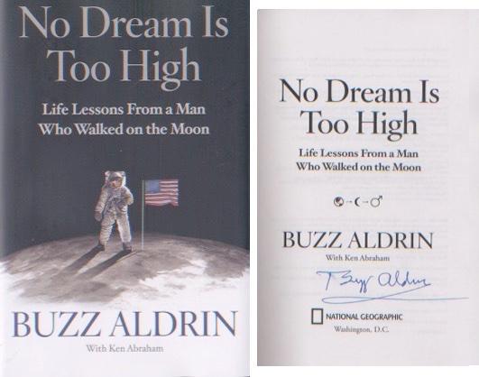 Apollo 11 - Buzz Aldrin - First Moonlanding. Sign