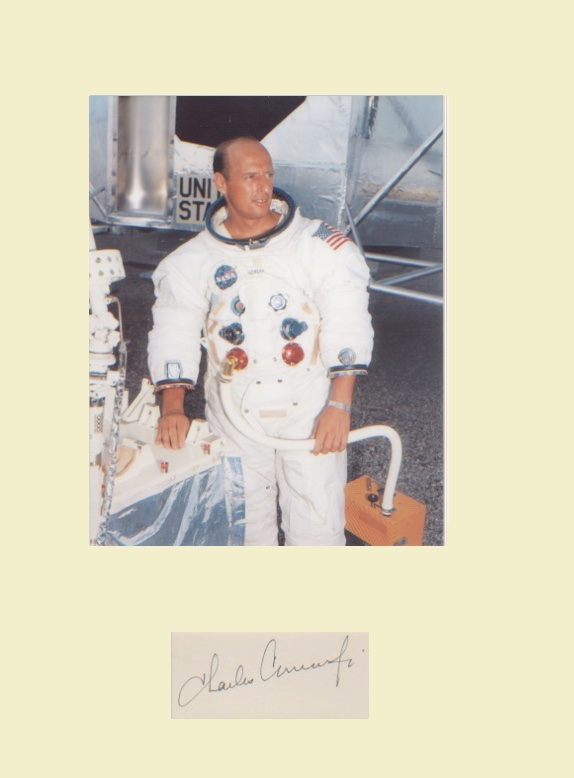 Apollo 12 - Charles Conrad. Second Moonlanding. Si