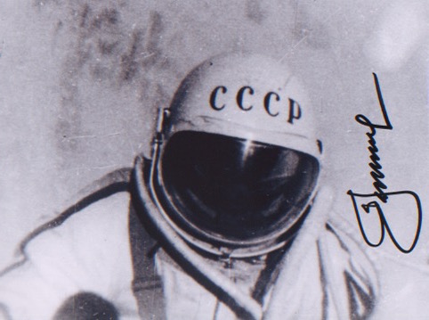 Alexei Leonov. 9x7 picture taking during the first
