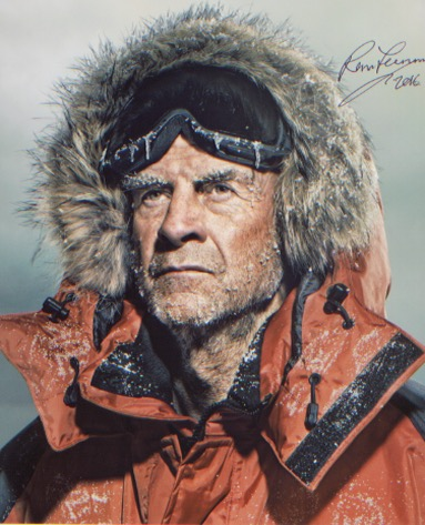 Sir Ranulph Fiennes. 10x8 picture from  a polar ex