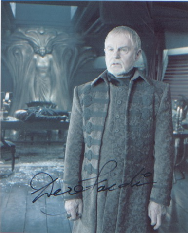 Endgame - Derek Jacobi. 10x8 picture in character.