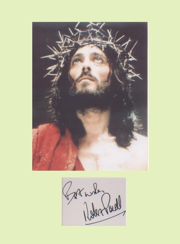 Jesus of Nazareth - Robert Powell. Signature with