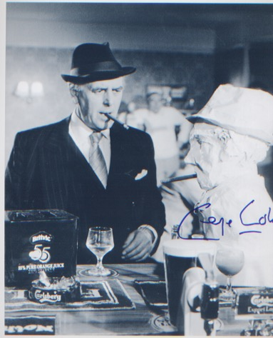 Minder - George Cole. A 10x8 picture from Minder.