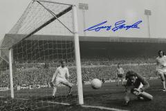 Gary Sprake Leeds United Keeper Signed 12 X 8 high