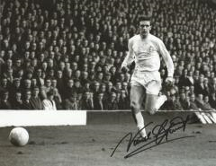 Norman Hunter Leeds United Signed 10 X 8 high qual