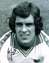 Joe Jordan Leeds United Signed 10 X 8 high quality