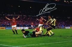 Lee Martin Manchester United Cup Final Goal Signed