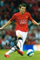 Michael Carrick Manchetser United Signed 12 X 8 hi