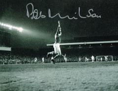 Bob Wilson Arsenal Fc Signed 10 X 8 high quality p