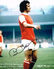 Peter Storey Arsenal Fc Signed 10 X 8 high quality